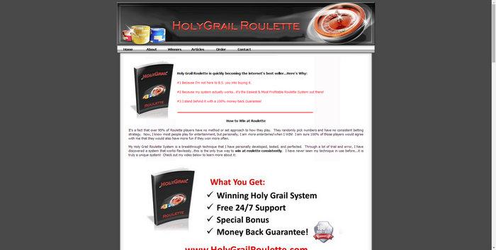holygrailroulette.com