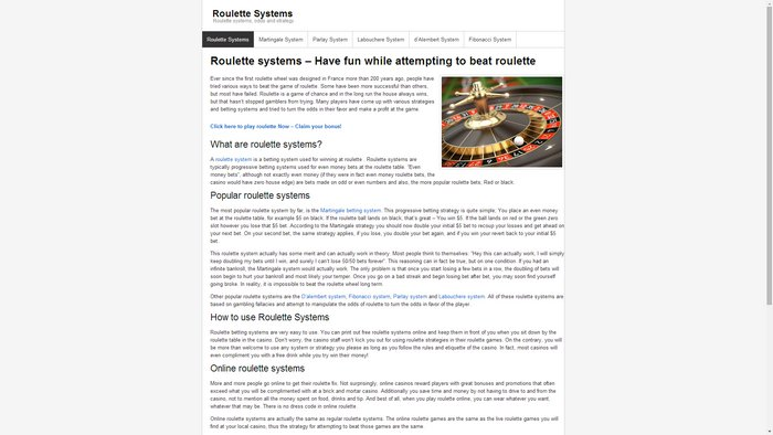 roulettesystems.org