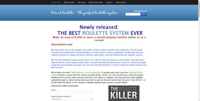 roulettetriad.com